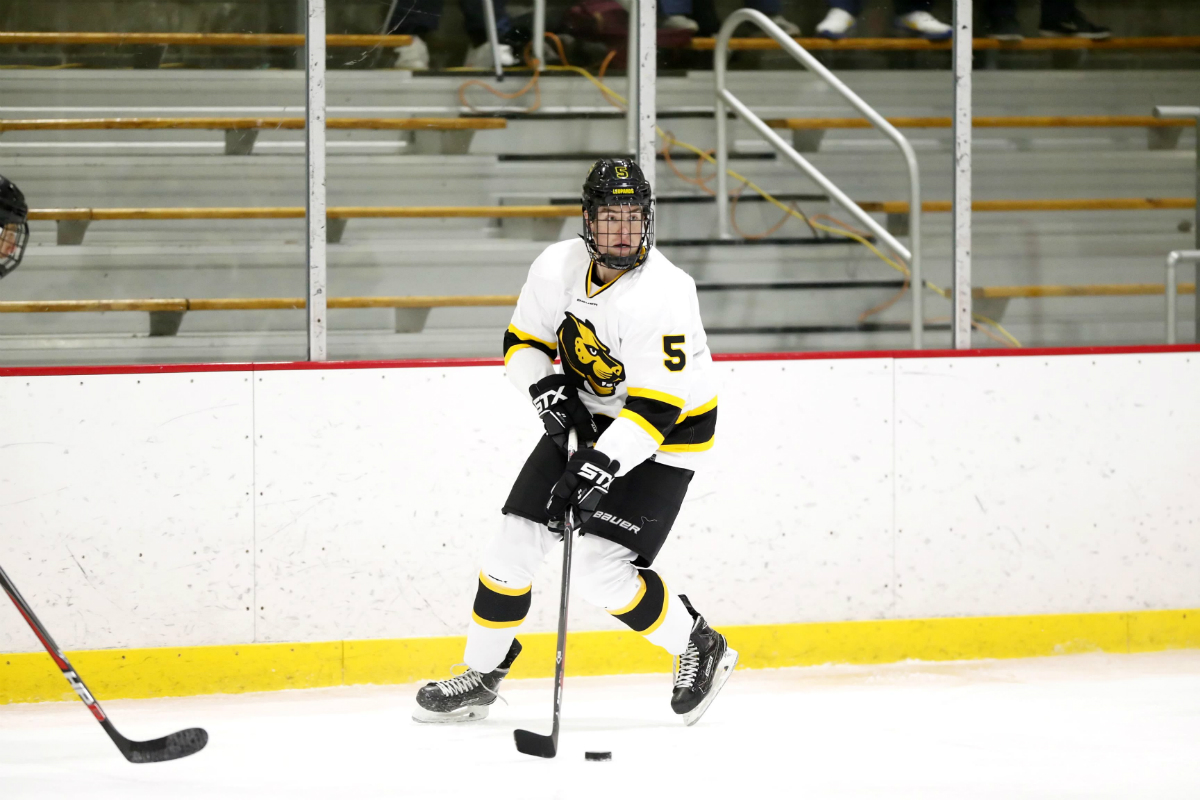 Hockey Jumps Out to Fast Start; Holds on to Defeat Western New England