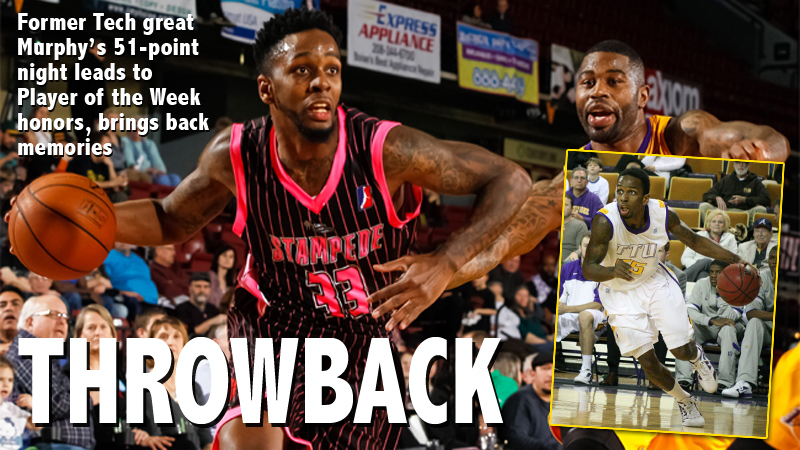 Former Golden Eagle great Kevin Murphy named NBA D-League Player of the Week