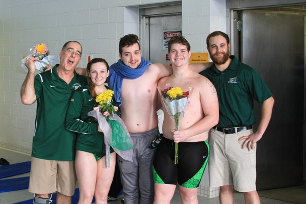 Program Record Falls On Senior Day