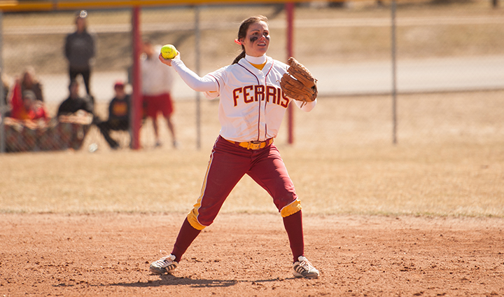 Ferris State Softball Opens League Homestand With Friday Split