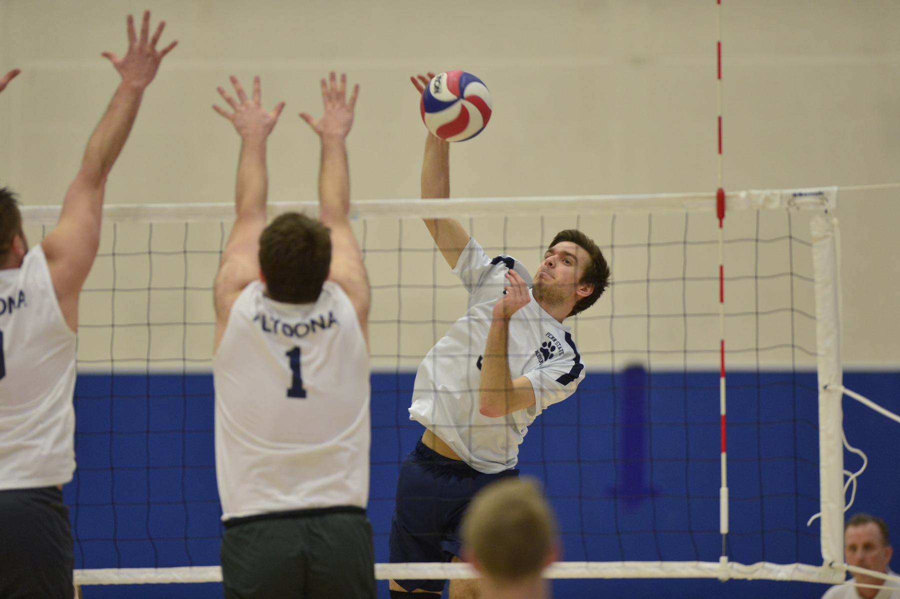 Altoona Edges Men's Volleyball