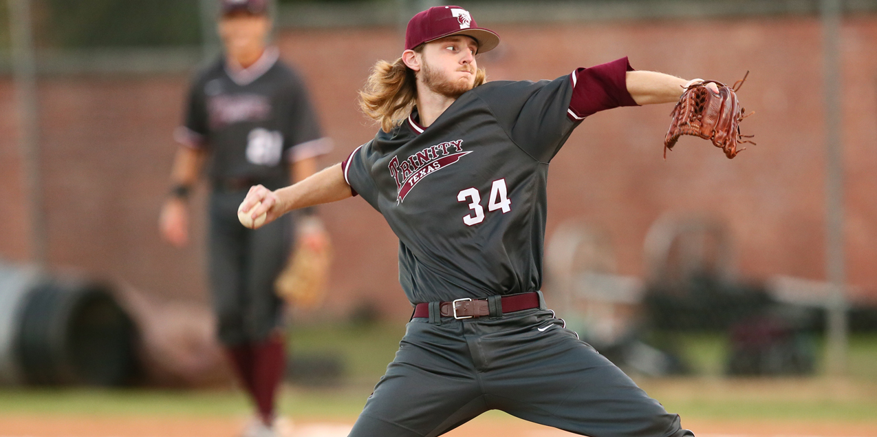 Trevor Griffin, Trinity University, Pitcher of the Week (Week 8)