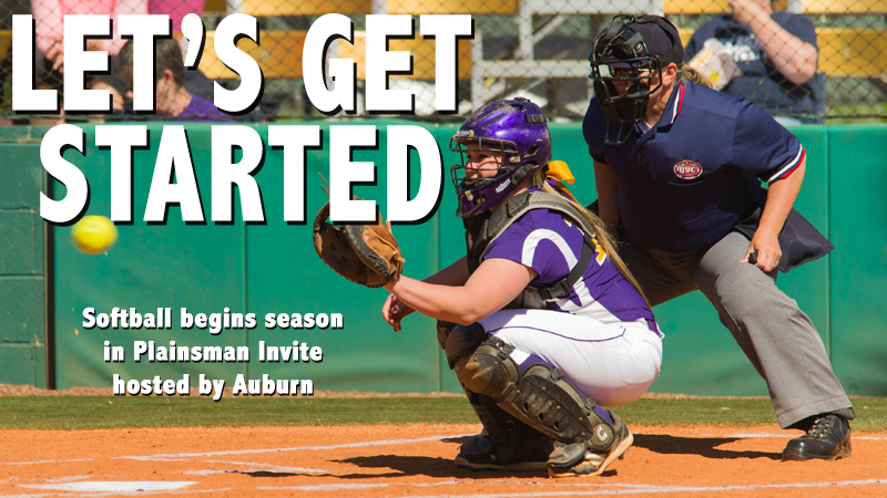 Softball unwraps 2014 season with weekend tournament at Auburn