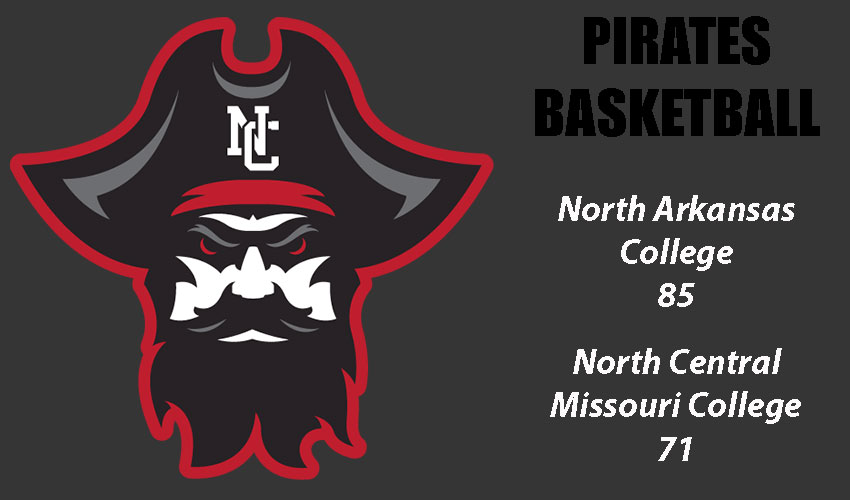 Pirates Fall To North Arkansas 85-71 In Season Finale
