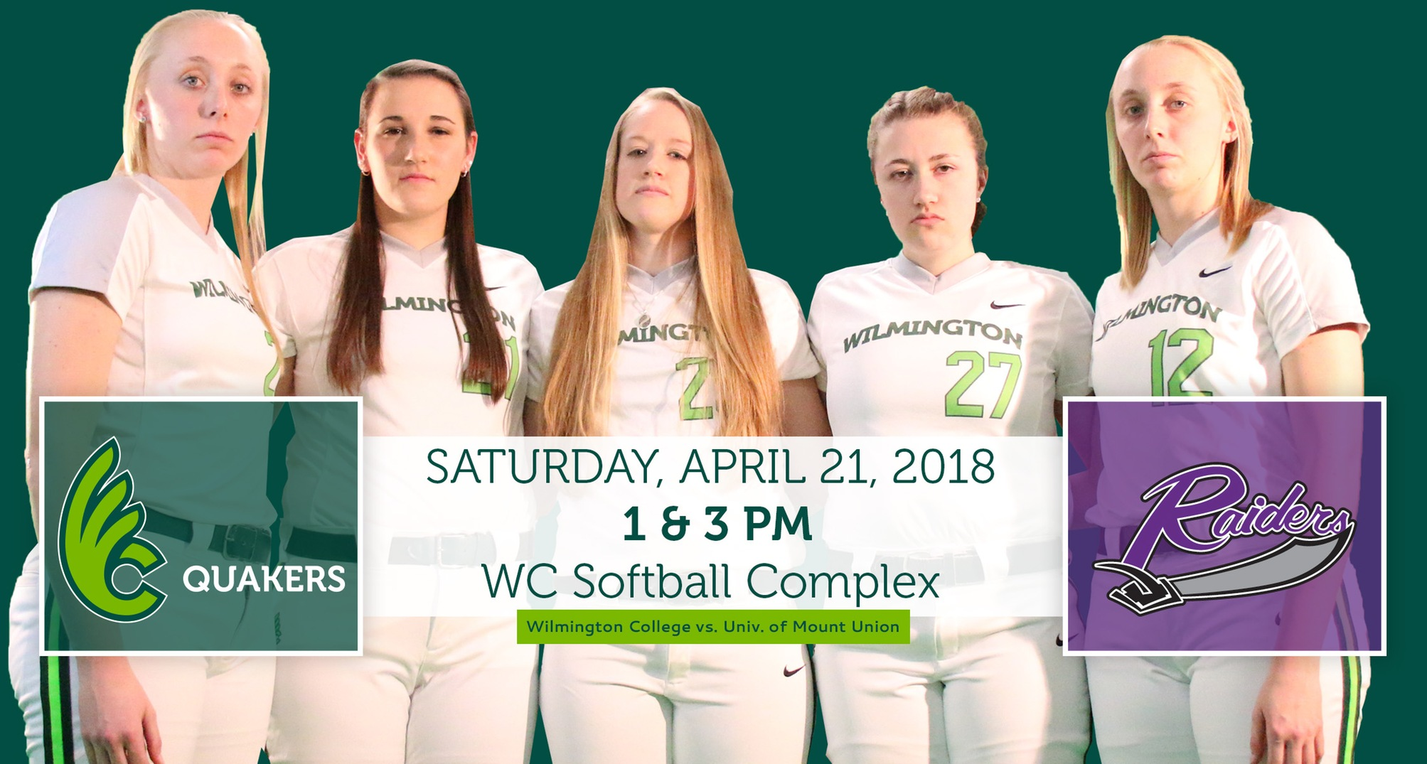 Softball Hosts Mount Union on Senior Day This Saturday