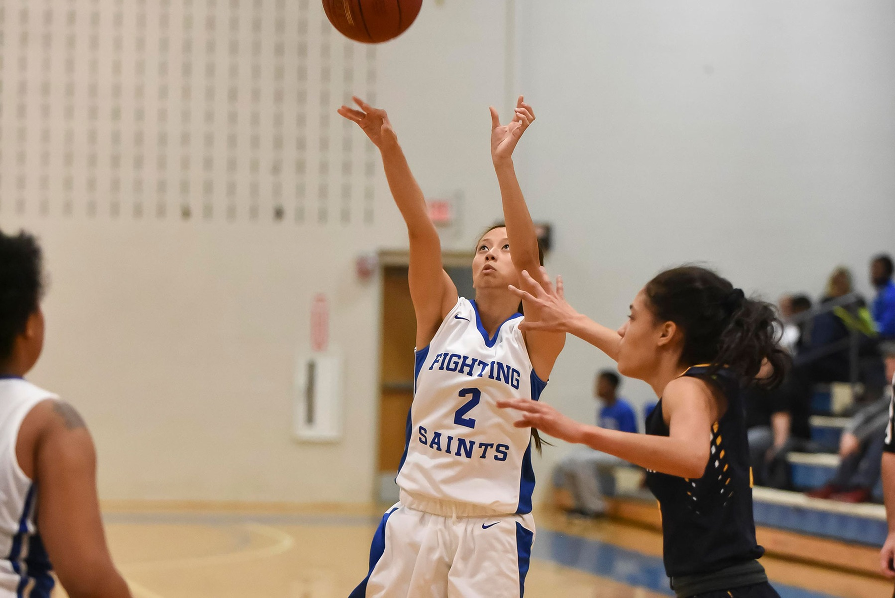Lady Saints routed against the Seawolves
