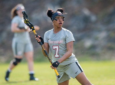 Junior Kianna Franklin led the field with 8 draw controls.
