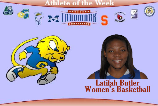 Butler Claims Weekly Honor From Landmark Conference