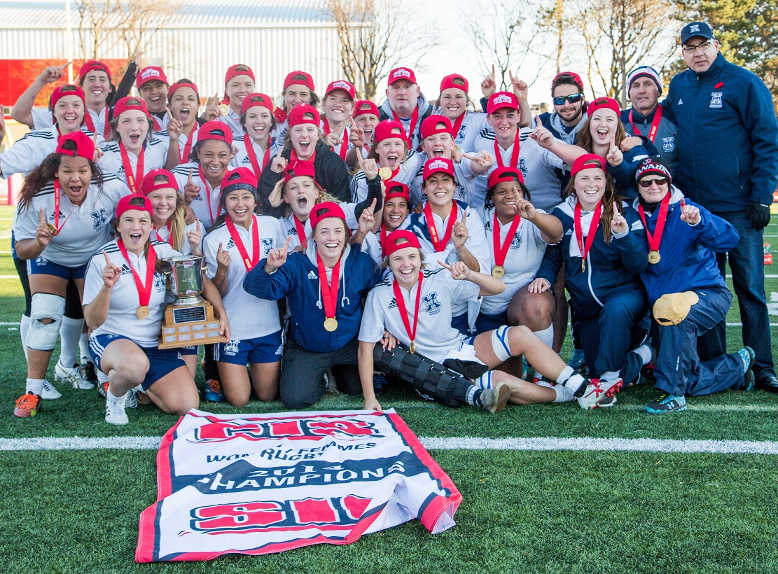 FINAL CIS women's rugby championship: X-Women outscore McMaster to claim 4th Monilex Trophy