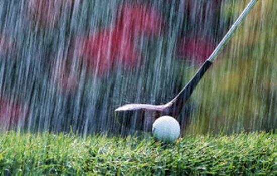 Golf Competes Against Field, Elements at Franklin Pierce