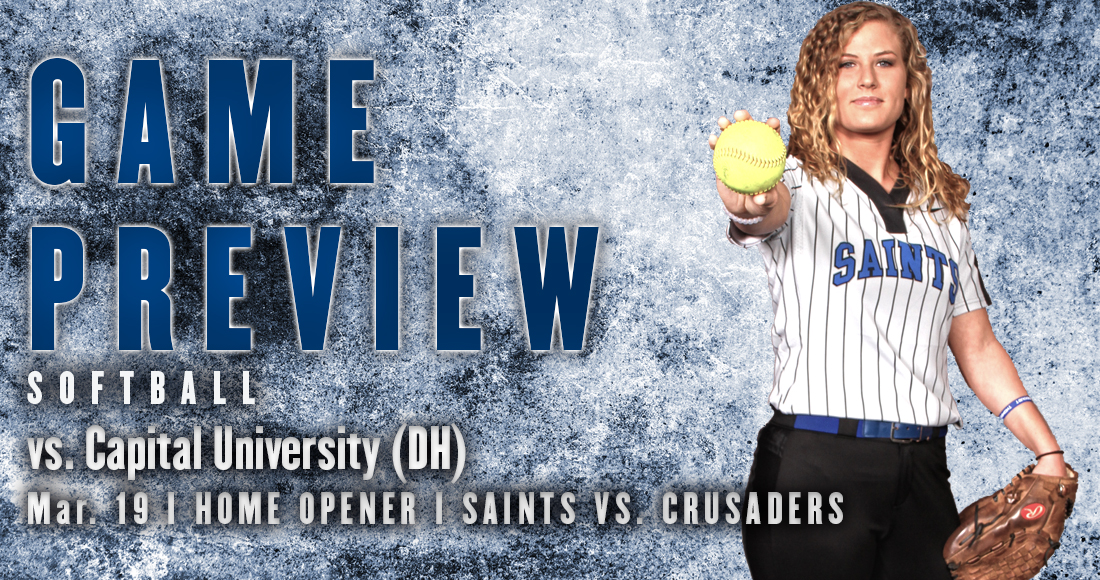 Softball Hosts Capital in Home Opener Double-Header
