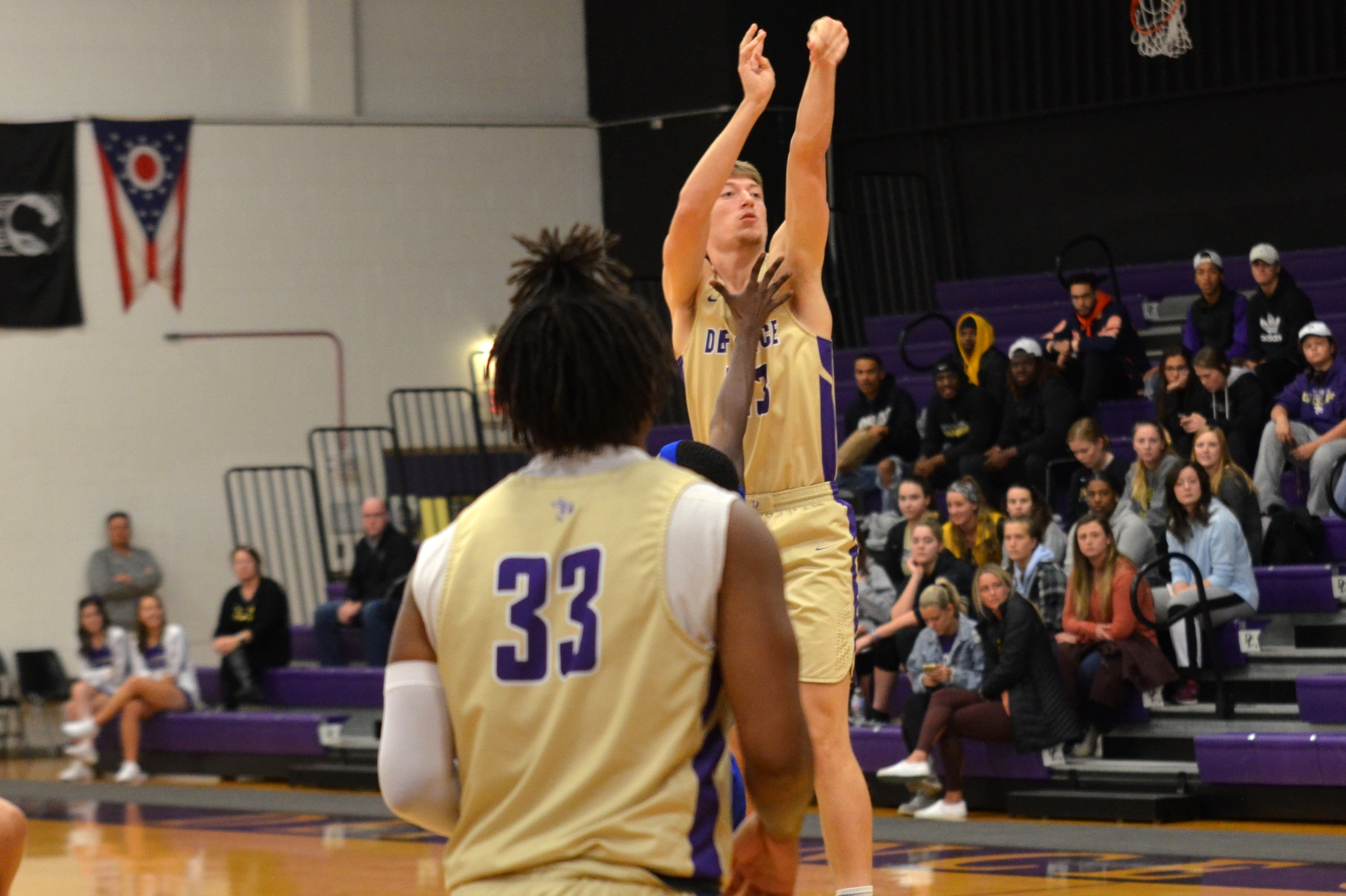 Men's basketball begins new year with HCAC loss