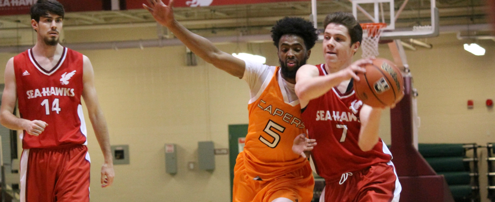 Sea-Hawks Win Their Third Straight