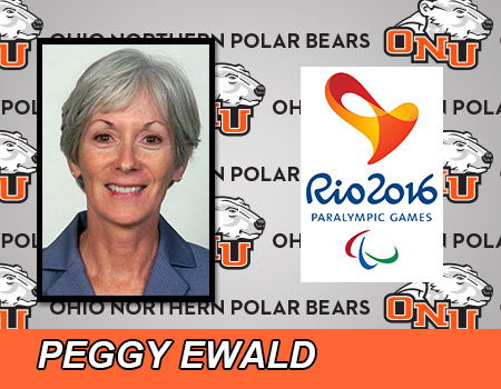 ONU's Peggy Ewald named to Team USA coaching staff for 2016 Paralympic Games in Rio de Jeneiro