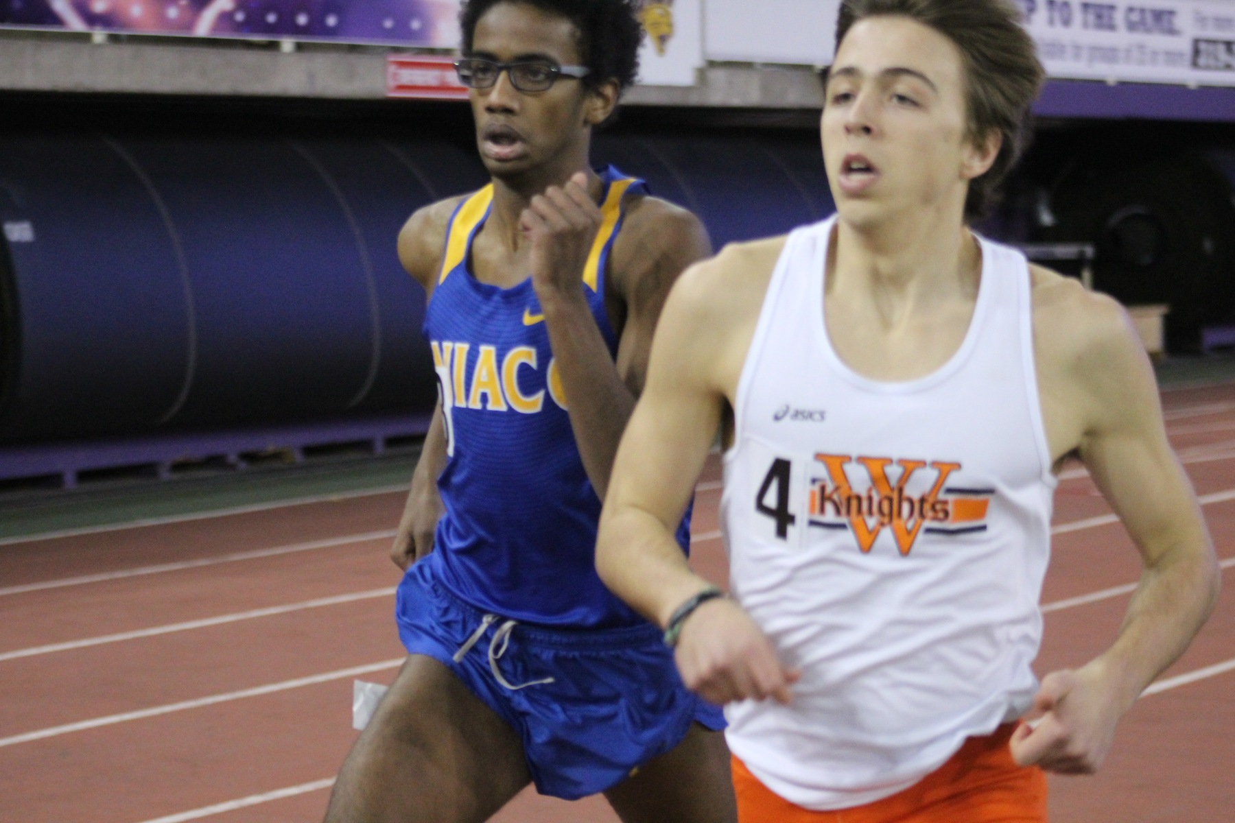 NIACC's Abiaziz Wako runs to a ninth-place finish at the Jack Jennett Open on Friday.