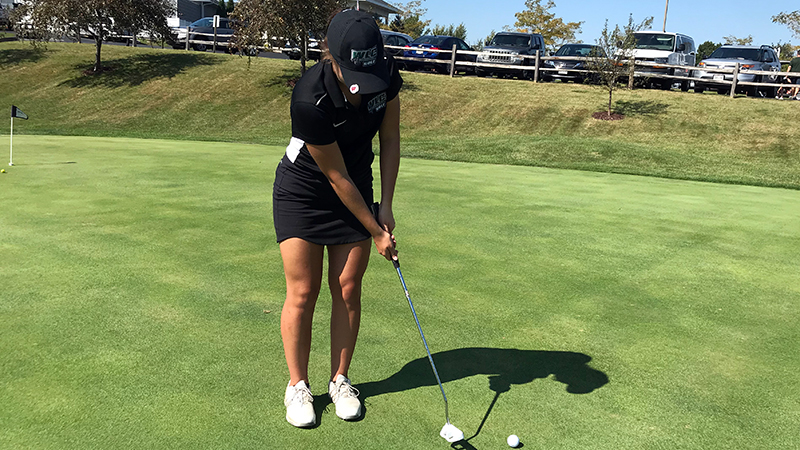 Women's Golf Cards Season Low At Marian Invite