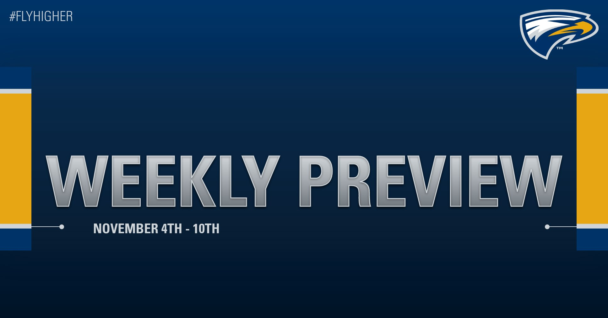 Emory Athletics Weekly Preview - November 4th - 10th