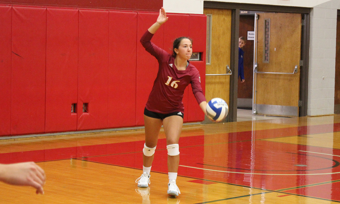 Women's Volleyball Wins Exciting Home Opener