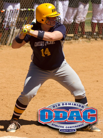 Emory & Henry's Caley Hodge Named To The All-ODAC Softball First Team