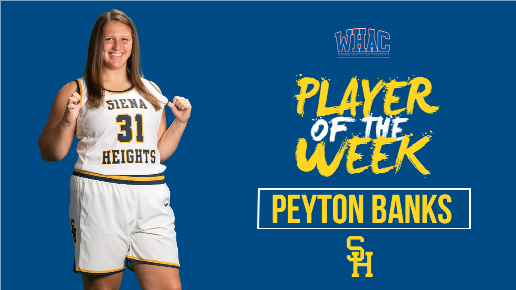 Peyton Banks Named WHAC Women's Basketball Player of the Week