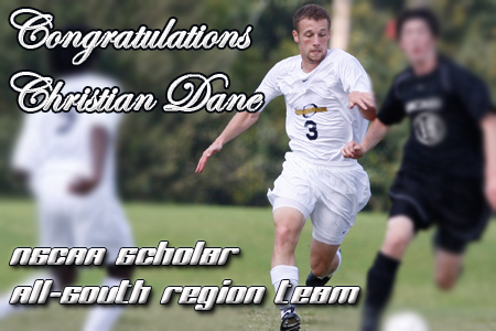 Dane receives school's first NCAA All-Region honor