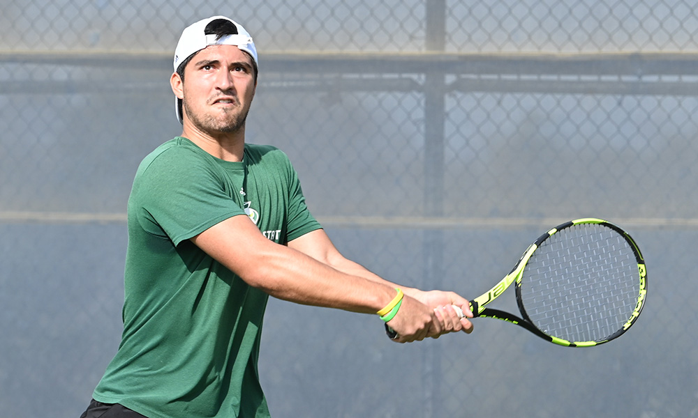 MEN'S TENNIS WINS BIG SKY OPENER ON THE ROAD AT EASTERN WASHINGTON, 4-3