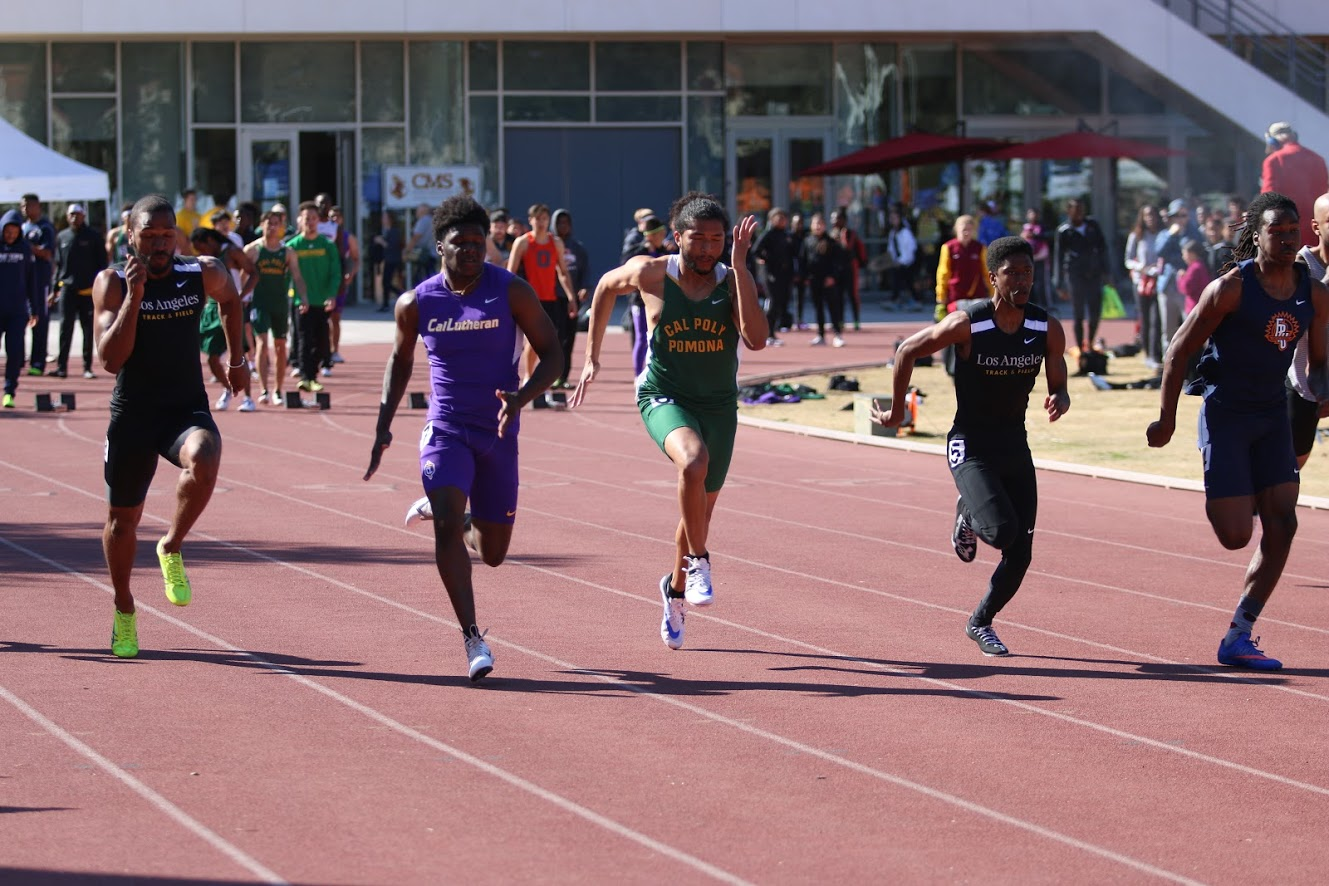 Obasi Dees took home the title for the 100-meter dash.