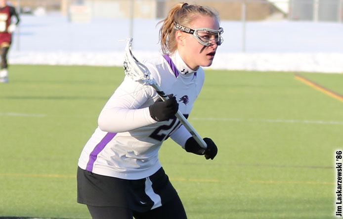 Women's Lacrosse Falls to No. 12 Assumption in NE10 Play