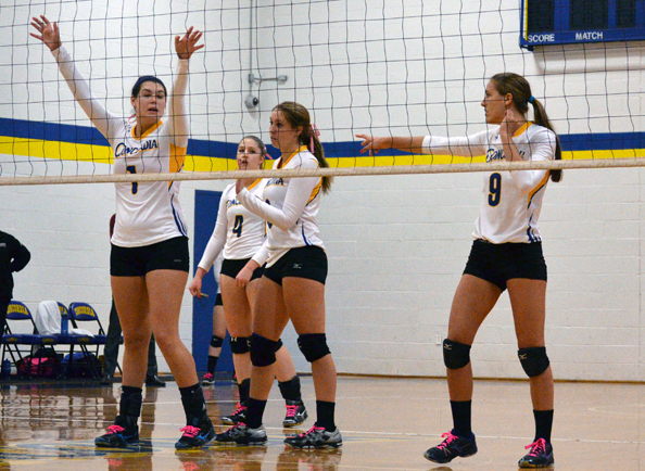Women's Volleyball Falls at Home to Nyack, 3-0