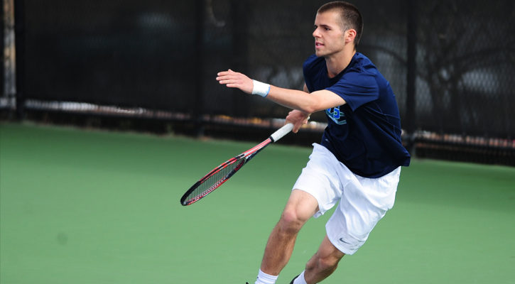 Hass Leads the Way for GC Men's Tennis at ITA Fall Regionals
