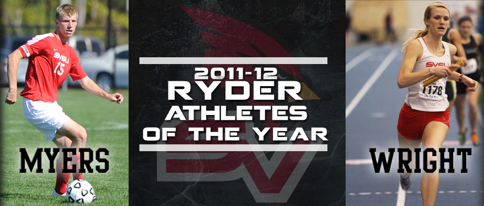 Myers, Wright Named Ryder Athletes of the Year