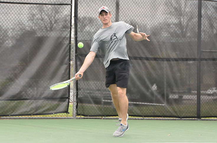 Men's Tennis: Panthers knock off USA South West Division leader Piedmont