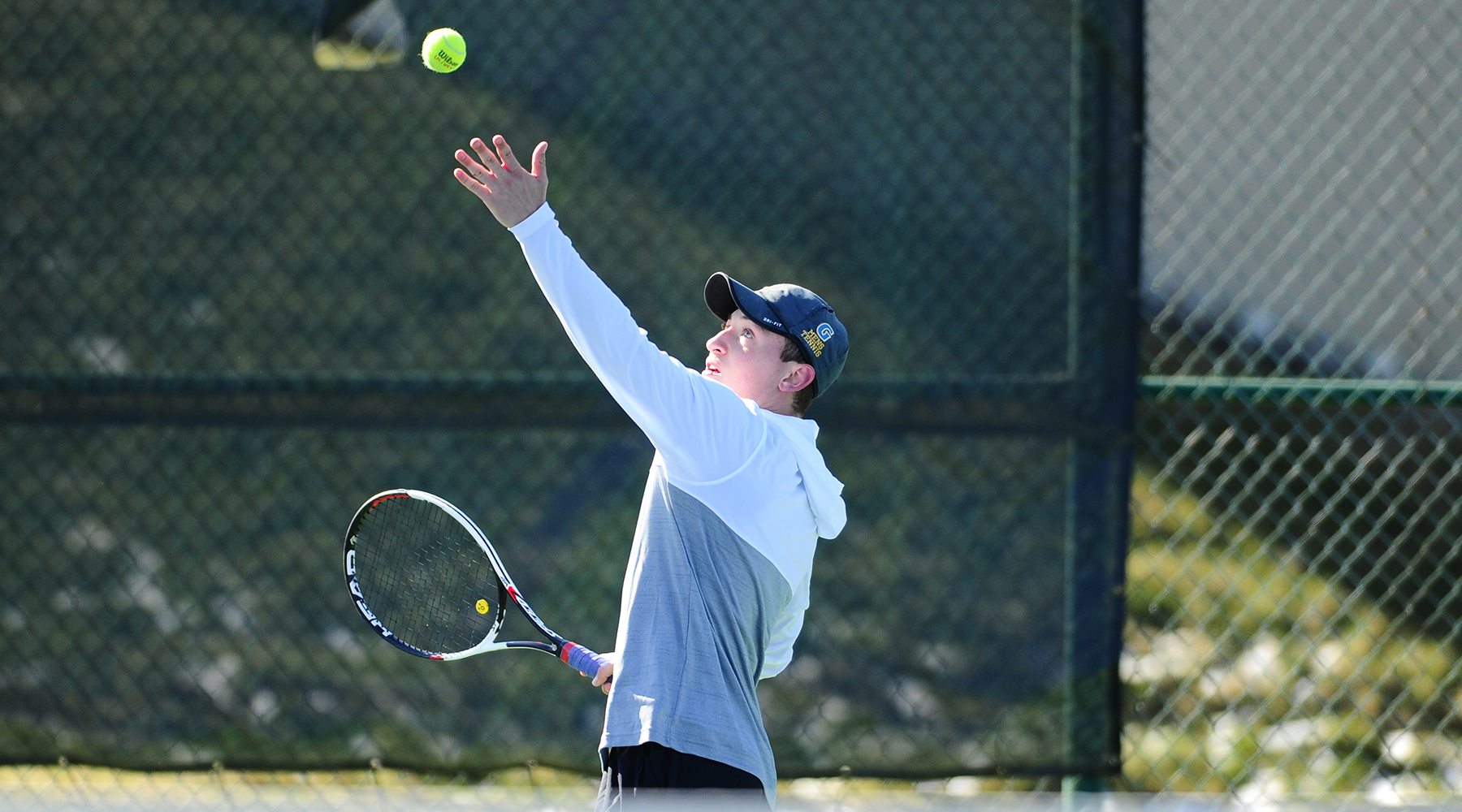 Men's Tennis Takes Two from Scranton, Drew in Road Landmark Conference Matches