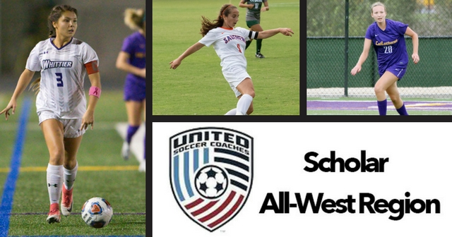 Three Named USCA Women's Scholar All-West Region, Onderwyzer-Gold Named Scholar All-American
