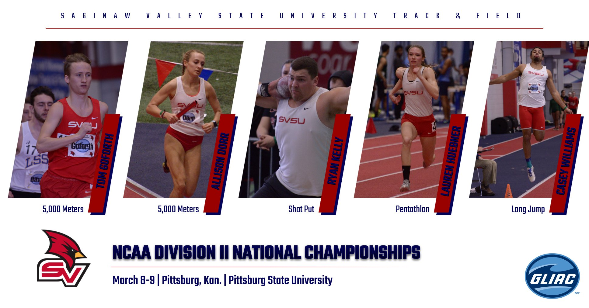 Cardinals set to compete at 2019 Indoor National Championships