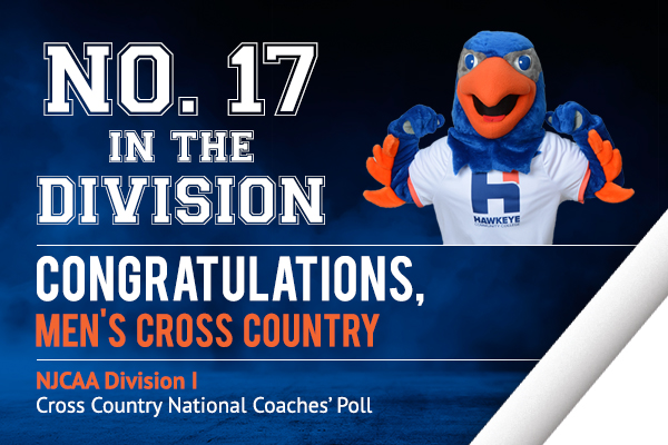 Men's Cross Country Ranked No. 17 in National Coaches' Poll