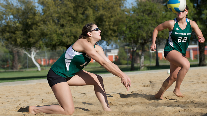 SAND VOLLEYBALL OPENS THE 2014 SEASON TONIGHT AT SAINT MARY'S