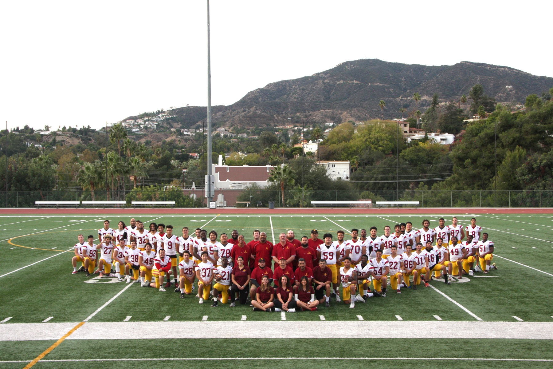 Glendale fell to East Los Angeles College 31-0 Saturday