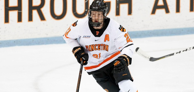 Kuffner becomes Princeton's all-time leading goal scorer in loss to No. 10 Clarkson