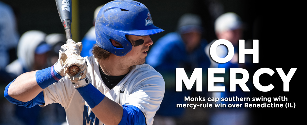 Monks Cap Florida Trip with Mercy-Rule Win Over Benedictine, 14-4