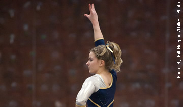 Gymnasts Win Final Regular Season Home Contest