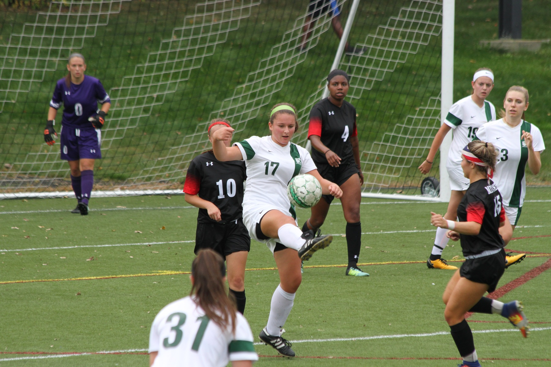 Women's Soccer Routs Mitchell