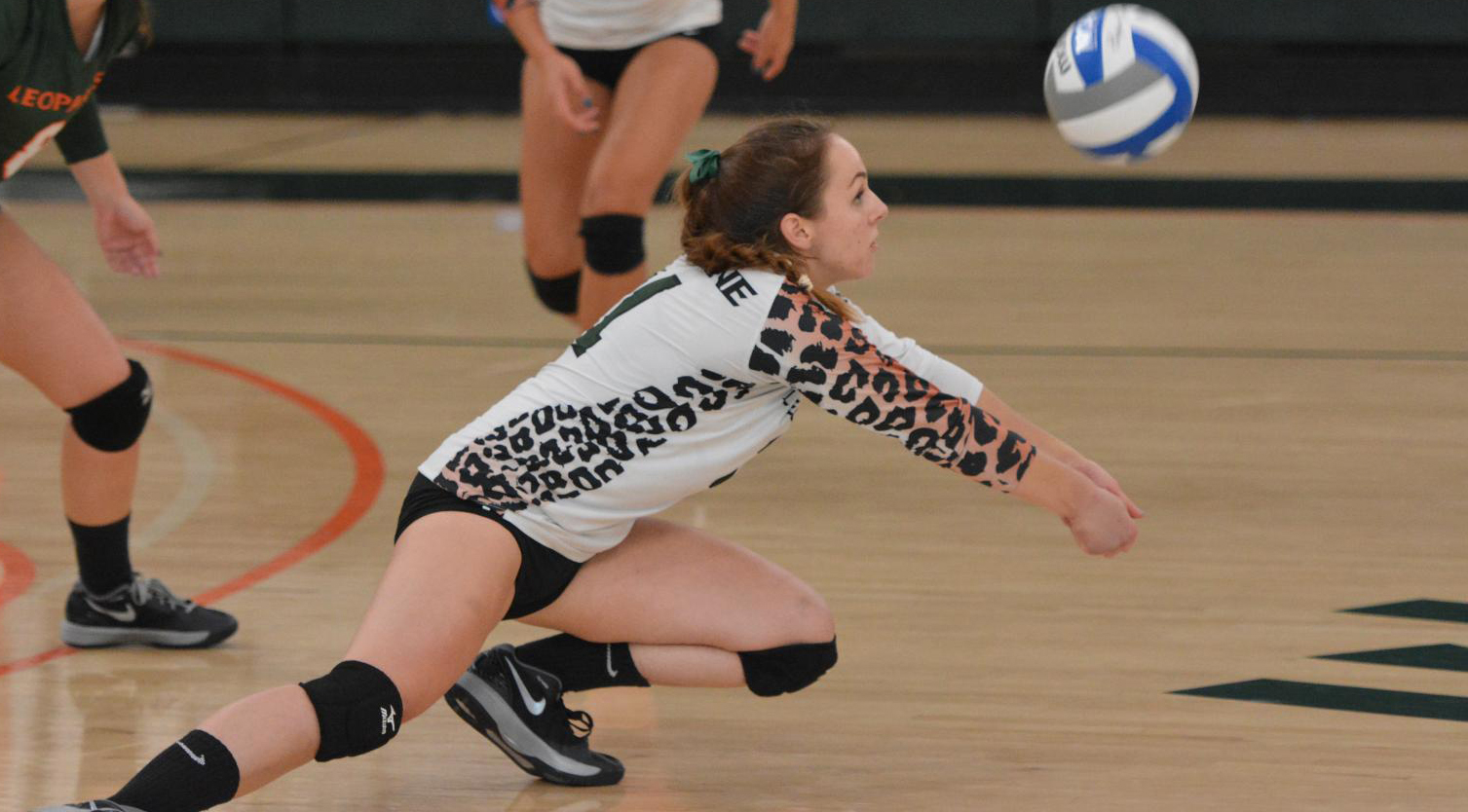 Volleyball falls at Chapman, 3-2
