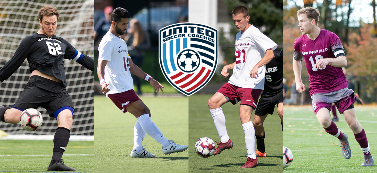 Program Record Four Men's Soccer Student-Athletes Pick Up United Soccer Coaches All-Region Honors