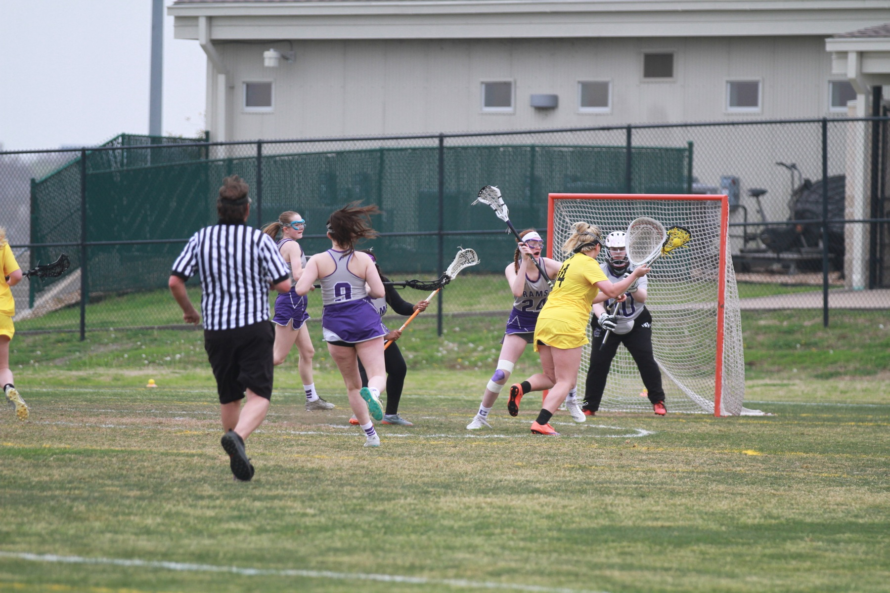 Big First Half Propels Women's Lacrosse Past Cornell College