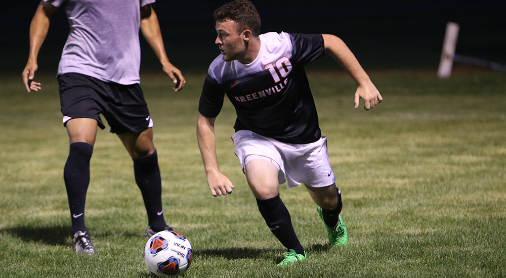 Men's soccer dropped by Spring Arbor