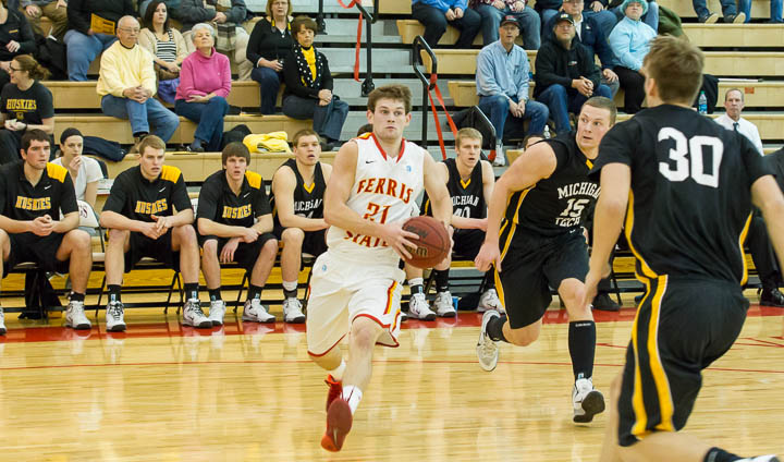 Ferris State Takes Michigan Tech To Wire With Inspired Performance