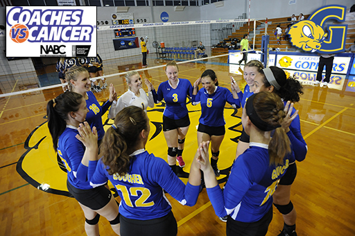 Volleyball to Host Coaches vs. Cancer Event Saturday