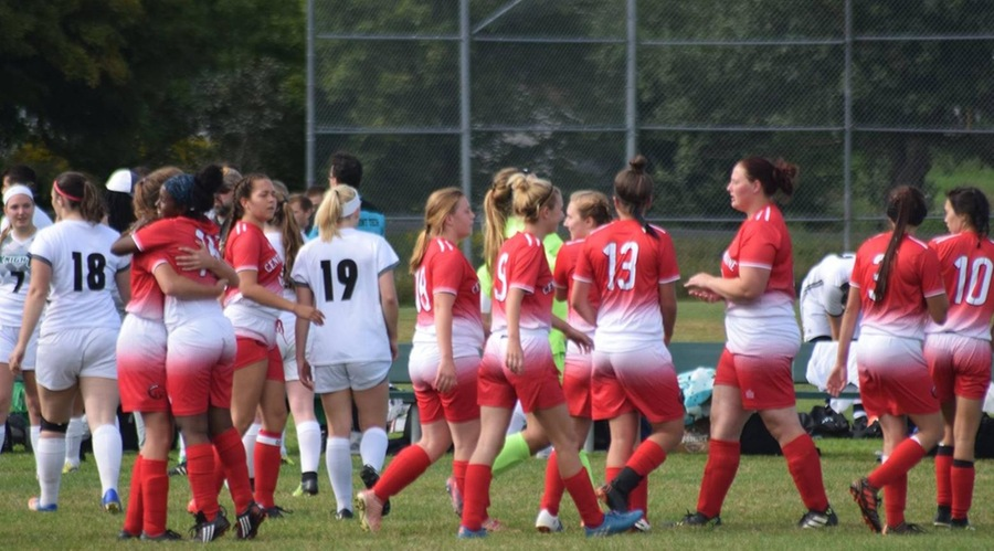 CMCC Women's Soccer wins on the road, evens record