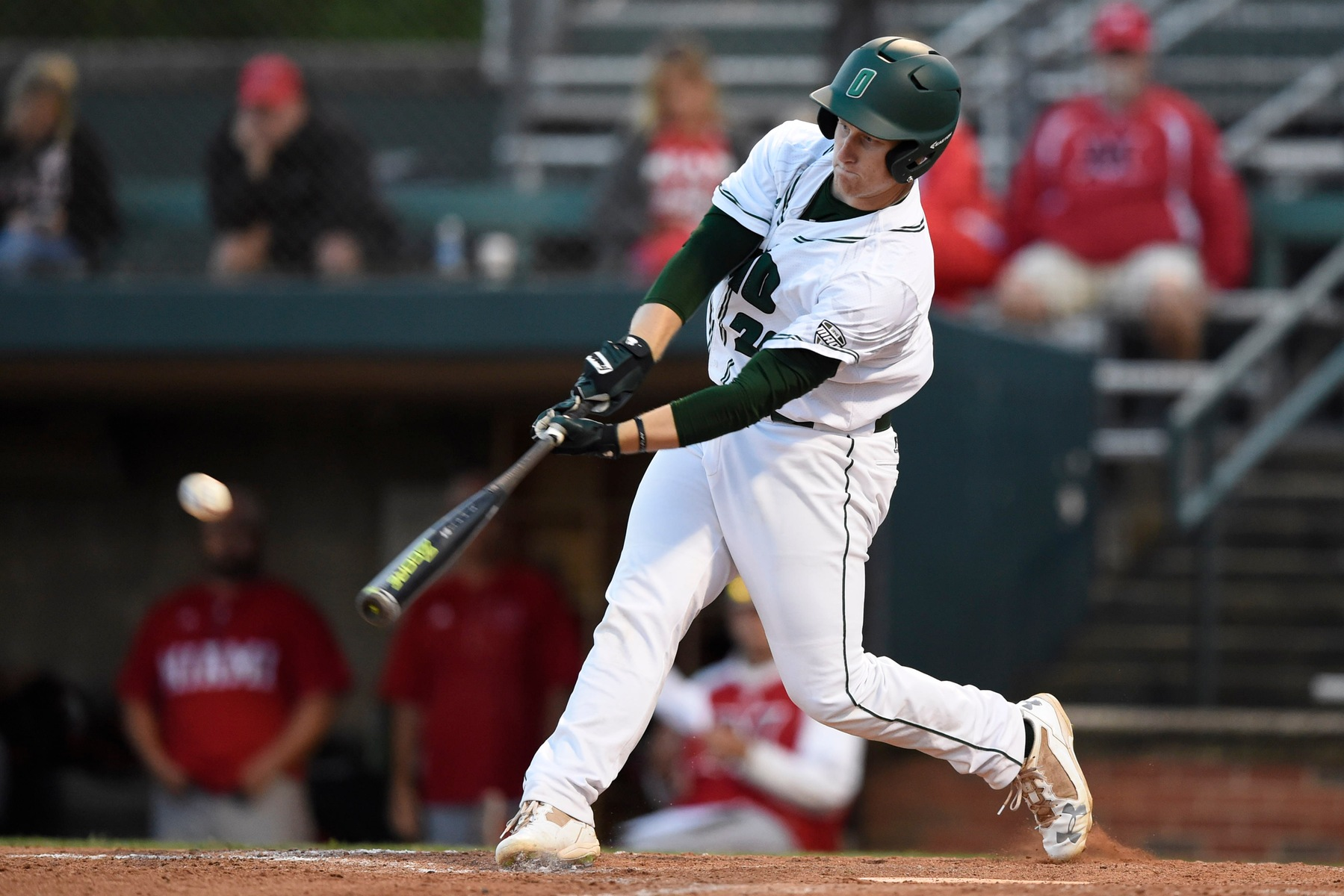Rott Drives In Five Runs As Ohio Baseball Topples Bowling Green, Evens Series